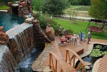 Pool Ideas / Outdoors, pool design, ideas, custom pool, swimming pool.