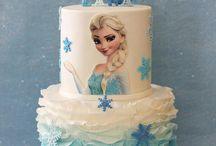 Elsa cakes