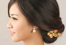 Chinese wedding hairstyle