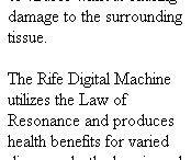 Rife Frequencies Healing