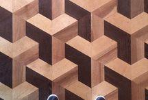 Pattern in wood