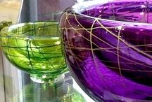 Glass  / Nest Bowls   www.stillpoint-gallery.com