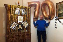 70 theme birthday party