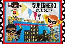 Superhero Theme 2014-2015 / by Tracy Aggie