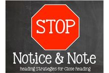 Notice and Note / Signposts