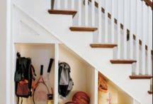 Under stairs ideas / by Jennifer Bartholomew