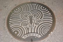 Manhole Covers / Manhole covers can be beautiful!  Just another way metalsmiths can express themselves.