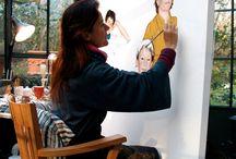Riproduzioni d'arte, illustrazioni e ritratti