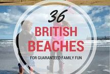 Beaches in the UK / The UK has some of the most amazing beaches, from miles of golden sand to rocky rock pools just waiting to be explored. The great British family holiday would not be complete without a visit to the seaside and here are some of our favourite beaches to visit.