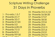 Scripture writing challenge