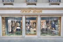 Project: Giorgio Armani Shoowroom, Venice, Italy / The project retail for Armani Showroom in Venice.
