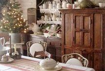 Interiér Vánoční