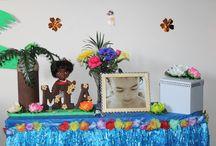 Hawaii Vs Moana Birthday Party Ideas