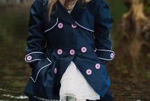 Frankie and Lola / Girls & boys adorable raincoats and gumboots