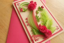 My quilling cards