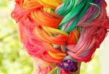 Μαλλιά-ουράνια τόξα