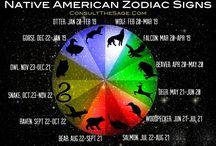 Native American zodiac