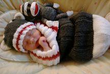 Saco de Bebê tricô