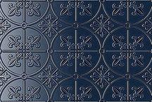 Tiles & matching blue