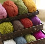 KNIT YOUR SQUARE TO GIVE YOUR SHARE / Knitting, crocheting, and sewing for charity