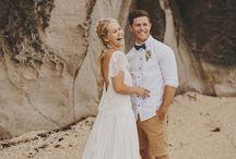 Beach groom