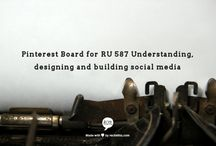 RU 587 Social Media / This collaborative board is for class discoveries and discussion