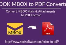 Simply Convert MBOX to PDF Fiels