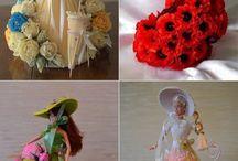 Куклы букеты