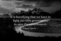 {Environmental Activism} / by Chantel C.