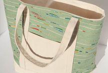 Tote Bags / Handmade with love. / by Stitchin In Eden (Megan Schroetel)