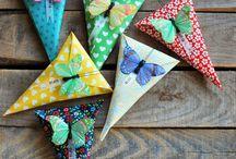 Tarjetas y pijadas infantiles / Manualidades para hacer con niños. Tarjetitas, cajitas de regalo......