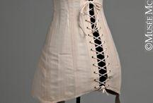 Edwardian (1910-14) - Lingerie / Corsets, chemises, petticoats etc. / by Bess Chilver
