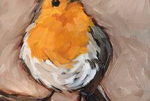 kunst / vogels