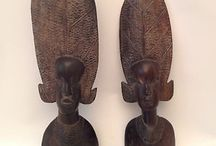 Wood Scupltures / Wooden carved items.