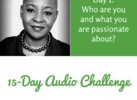 My 15-Day Audio Challenge