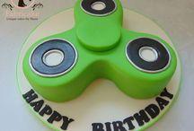 Spinner kake