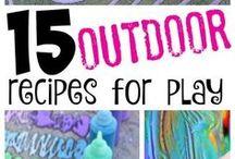outdoor activities & crafts