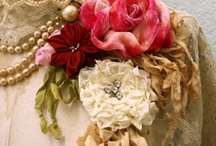 faux flowers / by Tattered Elegance