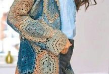 crochet hexagon summer jacket