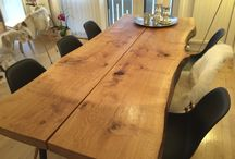 Bord og treverk