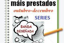 Máis prestados BDteca SERIES OUTONO 2014 /  Os máis prestados da BDteca SERIES na Biblioteca Ánxel Casal. OUTUBRO-DECEMBRO