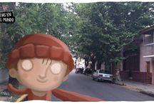 paseando por mi barrio / un tour por mi barrio, valentin alsina