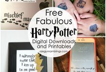 Harry Potter Tutorials, Patterns and Printables