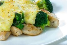Kip broccoli oven