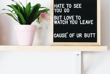 Letterboard | amuse