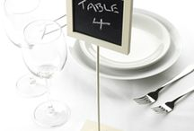 table number/names