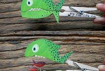 Ψάρι - μανταλάκι