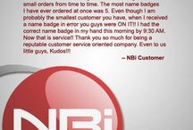 Name Badges International Customer Reviews / The wonderful feedback we get from our clients serves as motivation to us every day! Take a look at this review from one of our many satisfied client...