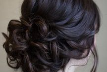 Fishs bridesmaid hair