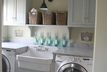 Laundry/Craft Room in the Farmhouse